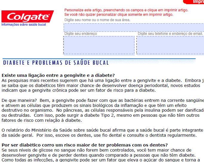 diabetes come regularmente