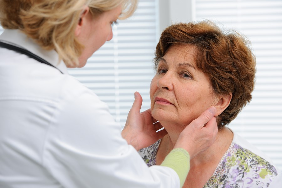 Oral Cancer Screening: A node that is hard and fixed to the tissue (non-mobile) is an indication to refer a patient to an otolaryngologist (ENT) or physician for an exam and possible biopsy.